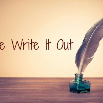 Free Write It Out