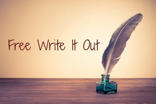 Free Write It Out