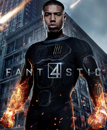 Michael B. Jordan Johnny Storm Human Torch