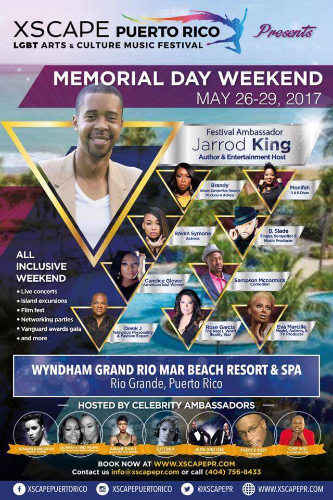 Join Jarrod King at Xscape Puerto Rico