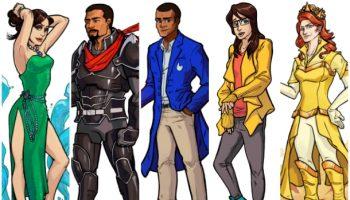Pangaea Characters