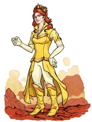 Queen Aeothesca